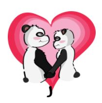 Twoo Sticker Panda