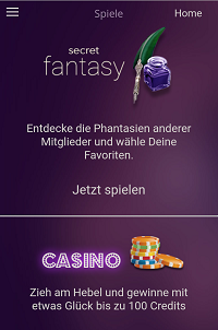 secret at spiele secret fantasy und casino